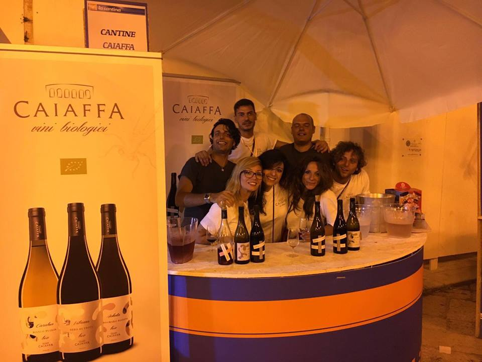 "Caiaffa @ Wines ""Il vino possibile"" event (in Polignano a mare, 22-23-24 July 2016)"