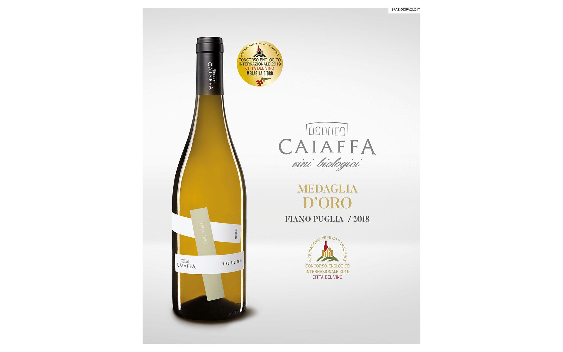 Città del vino 2019 – Medaglia d'oro