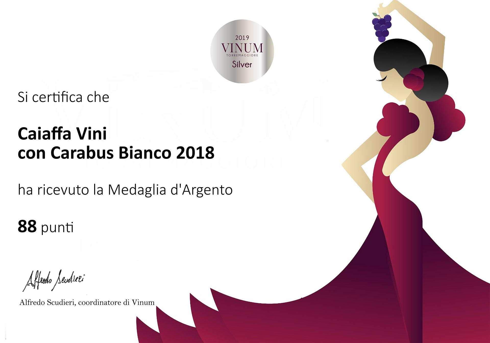 Vinum 2019 – Sliver Medal